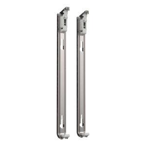 J-Konsolen für Stelrad Horizontalheizkörper mit Laschen – 2 Stück
