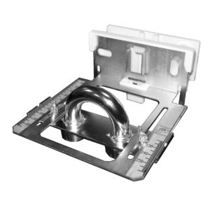 Montageschablone für Anschlussteile (inkl. Zusatzteil) für Wandabstände