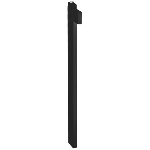Stabilisierungsstange Schwarz für Heizkörper mit Bauhöhe ab 500mm